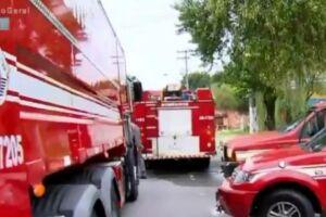 Três crianças morreram carbonizadas em um incêndio que atingiu uma residência
