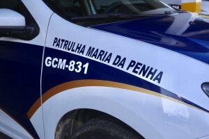 GCM Patrulha Maria da Penha, em Guarujá