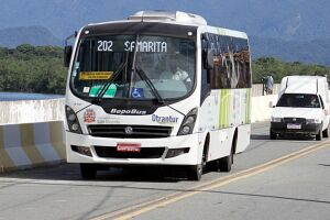 Ônibus estão circulando normalmente, com 100% da frota em atividade
