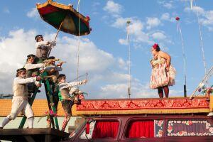 A peça 'Romeu e Julieta', do belorizontino Grupo Galpão, é destaque no dia 7