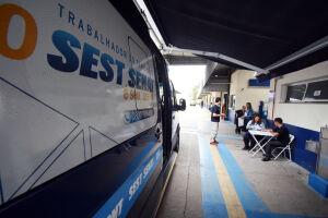 Prefeitura de Praia Grande recebe desde 2018 ações nos seus dois Terminais Rodoviários, Tude Bastos e Tatico, do Sest (Serviço Social do Transporte) e Senat (Serviço Nacional de Aprendizagem do Transporte)