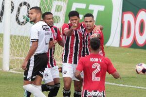 Gabriel Sara marcou para o Tricolor