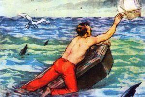 Em Moby Dick, só um tripulante, Ishmael, sobreviveu para contar a história