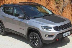 Preço base da versão Trailhawk do Jeep Compass é de R$ 211.990.