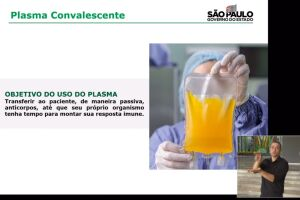 Santos é uma das cidades pioneiras no uso de plasma para tratar pacientes com Covid-19