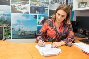 Rosana Valle recebeu todos os sindicatos da comunidade portuária