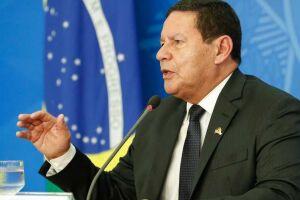 O vice-presidente da República, Hamilton Mourão (PRTB).