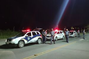 Na noite da última sexta-feira (9), a equipe encerrou um pistão na Praça Mário Covas, no bairro do Morrinhos