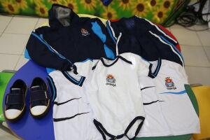 Prefeitura de Guarujá realizou a entrega dos agasalhos de inverno e também dos tênis escolares