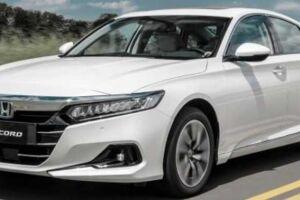 O Accord é um dos três veículos híbridos que a Honda planeja lançar no país até 2023, dentro do seu plano de eletrificação para o mercado loca