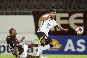 O Corinthians foi superado pela Ferroviária, de virada, por 2 a 1