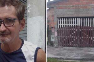 O agente de saúde aposentado David Soares de Abreu, 67, desapareceu há cerca de um mês em Mongaguá.