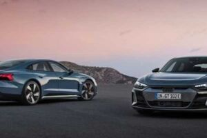 Audi e-tron GT e Audi RS e-tron GT devem chegar em abril.