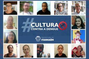 Artistas participaram de ação da saúde em Itanhaém