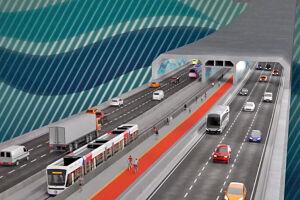Especialistas e autoridades defendem que projeto do túnel é a alternativa viável para a ligação seca entre os municípios e potencializa desenvolvimento do Porto de Santos