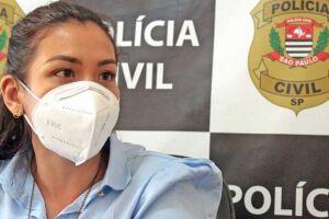Damiana Requel está à frente da Delegacia da Mulher de Itanhaém há pouco tempo e relata dificuldades de vítimas para relatar crimes