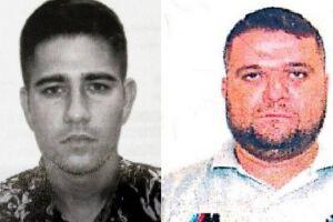 Allef Alves Bernardino e Leandro Machado da Silva foram presos por homicídios cometidos no Rio