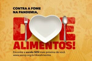 A mobilização começa nesta segunda-feira e tem como objetivo recolher o máximo de alimentos não perecíveis em todo o estado de São Paulo