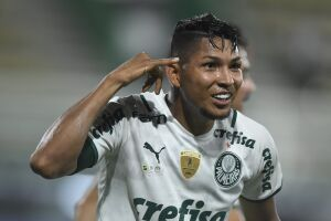 Rony abriu o placar para o Palmeiras no jogo de ida da final da Recopa sul-americana