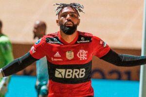 Gabigol fez o primeiro gol do Flamengo na decisão em Brasília