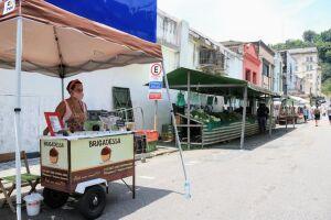 Feira Livre Criativa aconteece das 8h às 14h, na Rua Itororó, entre a Amador Bueno e a Av. São Francisco, no Centro Histórico