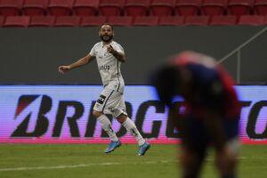 Pará marcou o segundo gol do Santos