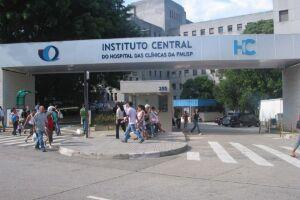 Fachada do Hospital das Clínicas, na região central de São Paulo