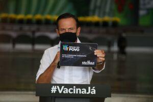 João Doria anuncia a criação do Bolsa do Povo em São Paulo