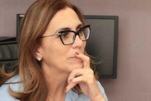 A deputada Rosana Valle.