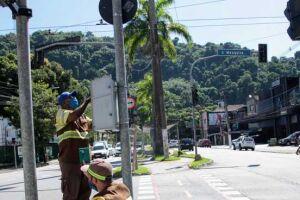 O objetivo da CET-Santos é mapear todos os pontos da Cidade onde há semáforos de pedestres apagados.