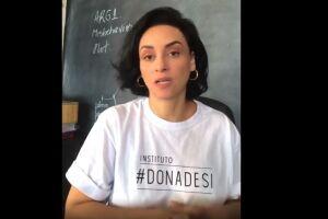 Suzana Pires é atriz, autora, empresária, empreendedora social e fundadora do Instituto Dona De Si