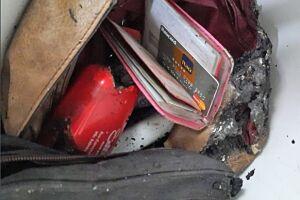 Bolsa de Aline foi encontrada por investigadores do 2° DP de São Vicente