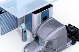 Indústria preparam truck movido a hidrogênio