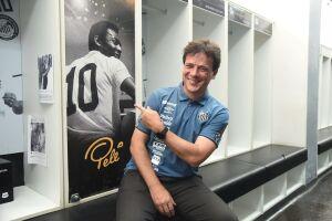 O técnico afirmou que a vitória obtida pelo Santos no domingo, que manteve o clube na elite paulista, foi um teste no qual os garotos se saíram bem