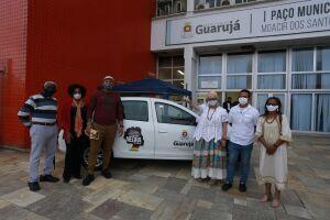 A Prefeitura de Guarujá entregou na tarde desta quinta-feira (13), um veículo, equipamentos de som e tenda ao Conselho de Participação e Desenvolvimento da Comunidade Negra.