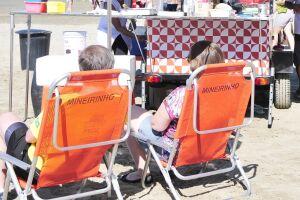 Em Praia Grande, ambulantes poderão contar com até duas cadeiras