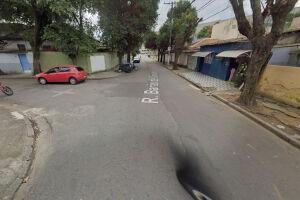 A tentativa de assassinato ocorreu na esquina das ruas Barão de Ramalho e Deoclécio Augusto Santana