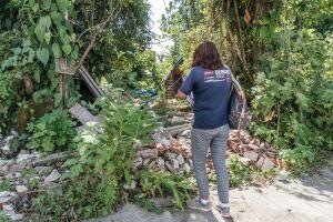 A ação contra a dengue ocorre nesta quarta no Jardim Ana Paula, localizado no bairro Rio da Praia
