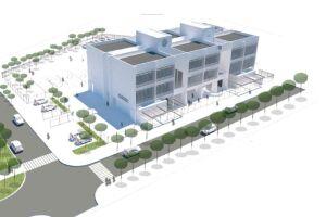 Esta será a nova escola moderna que o São Manoel, na Zona Noroeste de Santos, vai ganhar