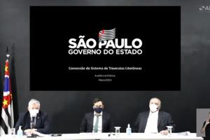 Audiência pública para apresentar e debater o modelo proposto para a concessão do Sistema de Travessias Litorâneas