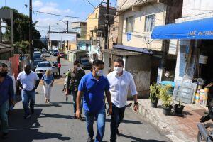 Vila Progresso recebeu, nesta segunda-feira (3), uma vistoria técnica de profissionais da Prefeitura para avaliação de áreas que possam abrigar uma nova sede da policlínica no bairro.