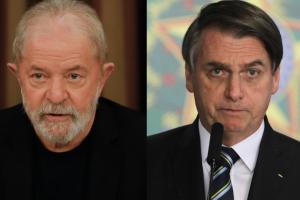 Jair Bolsonaro (sem partido) se agarra à bandeira do anticomunismo e o ex-presidente Luiz Inácio Lula da Silva (PT) quer deixá-lo isolado na direita radical