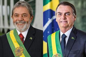 Lula lidera a corrida para a Presidência com margem confortável no primeiro turno e venceria Bolsonaro na segunda etapa