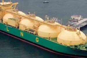 O terminal seria uma plataforma na qual ficarão atracados navios, com tanques capazes de transportar 85 mil toneladas de gás.