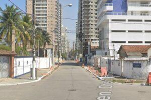 No Canto do Forte o bloqueio acontece entre as Avenidas Marechal Rondon e Marechal Mallet