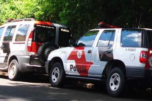 A Polícia Militar foi acionada para uma ocorrência de homicídio na rua José de Almeida Sobrinho