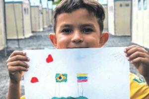 O objetivo do projeto é envolver crianças e adolescentes de todo o Brasil com a doação de livros infantojuvenis em português e espanhol.