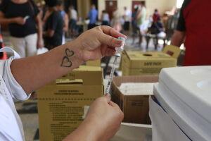 Município já imunizou, ao menos com a primeira dose, 51.242 residentes