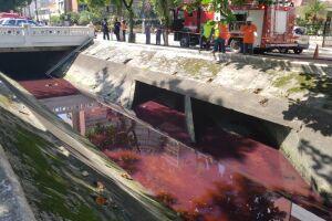 O vazamento, provocado por uma das mangueiras de um gerador que estava desgastada por falta de manutenção, começou por volta das 2h, do dia 4 de maio deste ano
