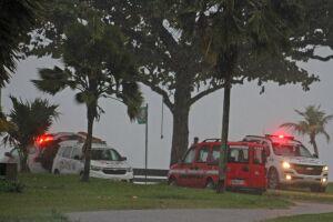 A Polícia Militar e o Corpo de Bombeiros foram acionados e se dirigiram até o local